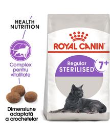 Royal Canin Sterilised 7+ Hrană Uscată Pisică 400 g