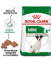 Royal Canin Mini Adult 8+ Hrană Uscată Câine 1 kg