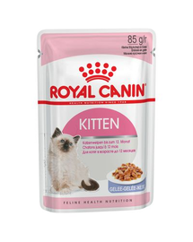 Royal Canin Kitten Instinctive In Jelly Hrană Umedă Pisică 85 g