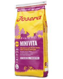 JOSERA MiniVita 4, 5 kg (5x900 gr) pentru câini seniori de talie mică