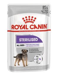 ROYAL CANIN Adult Sterilised Hrană umedă pentru câini sterilizați 12 x 85 g