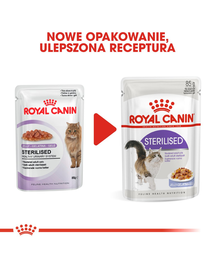 ROYAL CANIN Sterilised în aspic 85 g x12