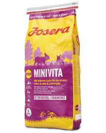 JOSERA MiniVita 5 x 900g pentru câini seniori de talie mică