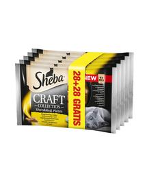 SHEBA Craft Collection Carne de Pasăre în Sos 85 g 28+28 GRATIS