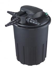AQUA NOVA, filtru de presiune, sistem BACKFLUSH auto-curățare, UV 24W, plasă 15000L