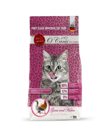 O'CANIS Hrană uscată pentru pisici cu gâscă și pui 600 g