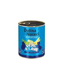 DOLINA NOTECI Premium SuperFood vițel și miel 400 g