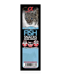 ALPHA SPIRIT Cuburi cu pește fără cereale 16 x 35 g