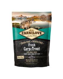 CARNILOVE Fresh cu Crap si Pastrav 1,5 kg