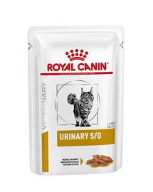 ROYAL CANIN Veterinary Diet Feline Urinary S/O 85 g x 12 buc.