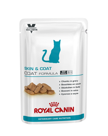ROYAL CANIN Cat Skin & Coat  12 x 100 g