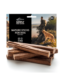 SIMPLY FROM NATURE Nature Sticks cu vită 7 buc.