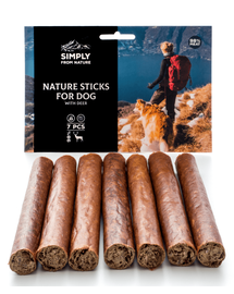 SIMPLY FROM NATURE Nature Sticks cu carne de căprioară 7 buc.