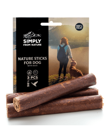 SIMPLY FROM NATURE Nature Sticks cu rață 3 buc.