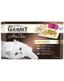 Gourmet A la carte mix 3+1 85 g