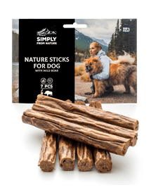 SIMPLY FROM NATURE Nature Sticks cu mistreț 7 buc.