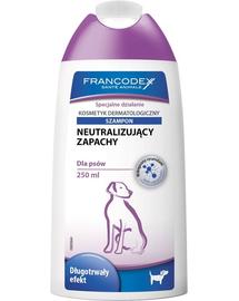 FRANCODEX Șampon neutralizare mirosuri 250 ml