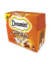 DREAMIES DeliCatz cu pui 25 g x16