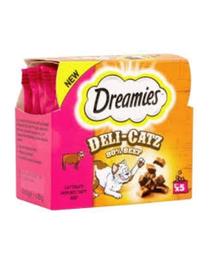 DREAMIES DeliCatz cu vită 25 g x 16