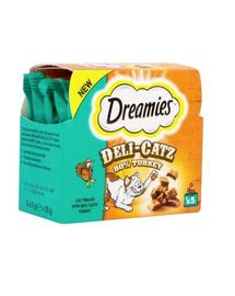 DREAMIES DeliCatz cu curcan 25 g x 16