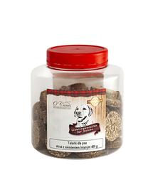 O'CANIS Biscuiți cu carne de fazan și ciulin de lapte 400 g
