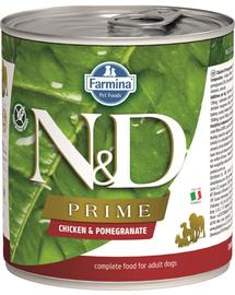 FARMINA N&D Prime - Hrană umedă cu pui și rodie 285 g