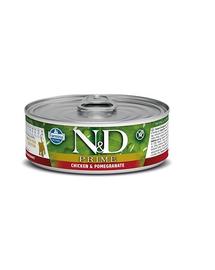 FARMINA N&D PRIME Chicken & Pomegranate Kitten Canned 80g