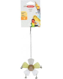 ZOLUX Jucărie acril floare cu clopoței pe lanț