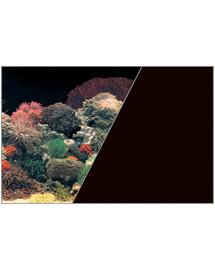 ZOLUX Fundal cu două fețe pentru acvariu 50 cm x 15 M recif de corali negru