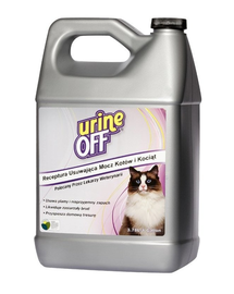 URINE OFF Pisici - Soluție împotriva petelor și mirosurilor 3,78 l