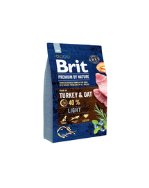 BRIT Premium By Nature Light 3 kg