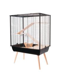 ZOLUX Cușcă Neo Cozy pentru rozătoare mari H80 negru