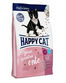 HAPPY CAT Supreme Junior Grainfree cu Rață 1,4 kg