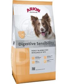 ARION Health&Care Digestive - Hrană uscată pentru câini cu probleme digestive 12 kg + 1 kg GRATIS