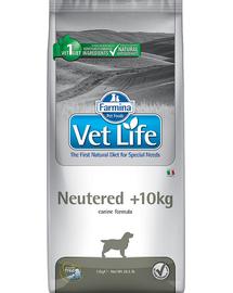 FARMINA Vet Life Dog Neutered + 10 kg - Hrană uscată pentru câini sterilizați 12 kg