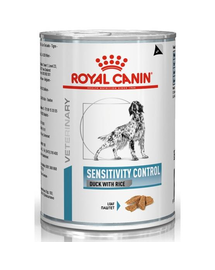 ROYAL CANIN Dog sensitivity control rață & orez 420 g