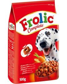 FROLIC Hrană uscată cu carne de vită, legume și cereale 0.5 kg x16