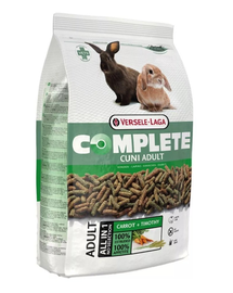 VERSELE-LAGA Cuni Adult Complete 8 kg + 800 g GRATIS extrudat pentru iepuri
