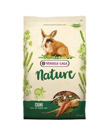 VERSELE-LAGA Cuni Nature - hrană pentru iepuri și iepuri pitici 2,3 kg