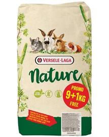 VERSELE-LAGA Cuni Nature - Hrană pentru iepuri miniaturali 9 kg + 1 kg GRATIS