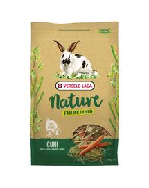 VERSELE-LAGA Cuni Nature Fibrefood - light & sensitive pentru iepuri și iepuri pitici 1 kg