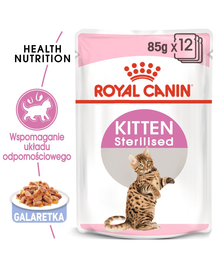 ROYAL CANIN Kitten Sterilised 12 x 85 g