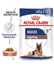 Royal Canin Maxi Ageing 8+ Hrană Umedă Câine 140 g