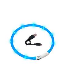 KARLIE Visiolight iluminare LED zgardă pentru câini 70cm albastru