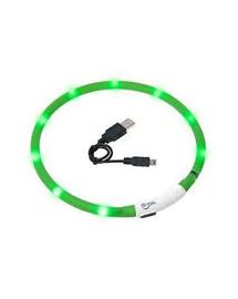 KARLIE Visiolight iluminare LED zgardă pentru câini 70cm verde