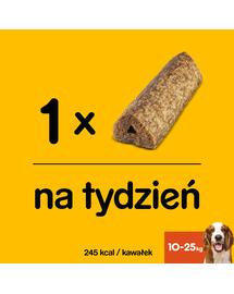 PEDIGREE GoodChew - Tratament pentru mestecat cu carne de vită - rase medii 14 x 88 g
