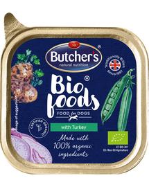 BUTCHER'S BIO cu carne de curcan 150 g