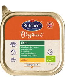 BUTCHER'S Organic Light cu vită 85 g
