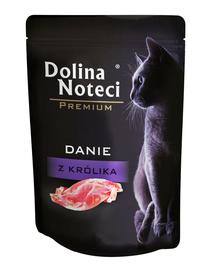 DOLINA NOTECI Premium hrană umedă pentru pisici, cu iepure 85 g