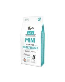 BRIT Care Grain Free Mini Light & Sterilised 7 kg